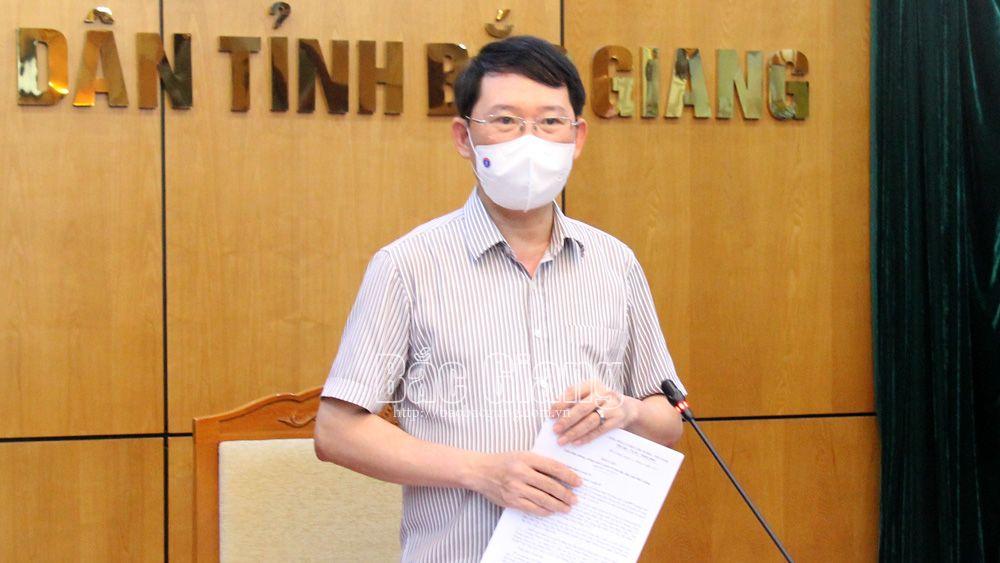 Chủ tịch UBND tỉnh Lê Ánh Dương: Quyết liệt trong quản lý khu cách ly tập trung, không để lây nhiễm chéo